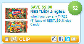 nestle jingle deal $2 Nestle Jingles coupon + Wonka coupons