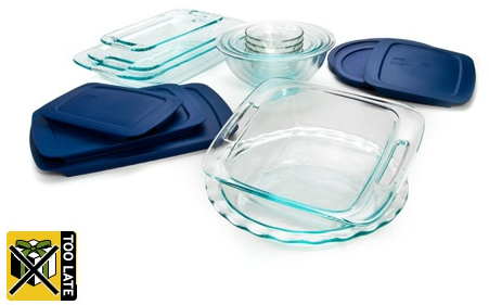 pyrex deal Pyrex 19 piece bakeware set $39.99 (reg $76)