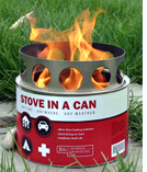 siac large1 $17 or $7 for a Safe Portable Stove In A Can Plus Four Fuel Cells