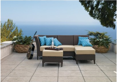 2 target furniture deal Cascadia Outdoor Sectional Set   as low as $345.48 shipped (reg $700)