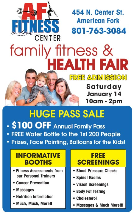 424434 FREE AF Family Fitness Fair 1/14