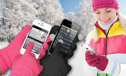 56980kjr1v lg $13 for Touch Screen Gloves W/ Free Shipping ($49 Value)