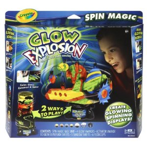 Crayola Glow Explosion Deal Crayloa Glow Explosion Spin Magic $6.61 (Reg $29.99) Free Shipping