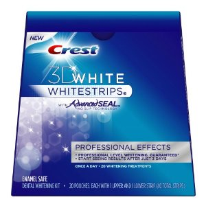 Crest 3D White Whitestrips Deal Crest 3D White Whitestrips Whitening Kit $24.84 (Reg $77.80) Free Shipping