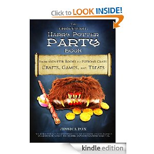 Free Harry Potter Party Book Free Ebook:  Unofficial Harry Potter Party Book (Reg $9.99)