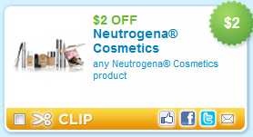 Neutrogena printable coupon deal *HOT* Neutrogena deal