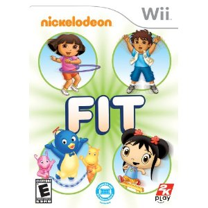 Nickelodeon Fit Wii Deal Nickelodeon Fit Wii Game $16.10 (Reg $39.99) with Free Shipping!
