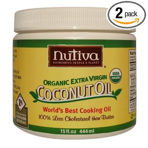 Nutiva Coconut Oil Deal *Back* Nutiva Organic Extra Virgin Coconut Oil $12.15 for 2!  Free Shipping