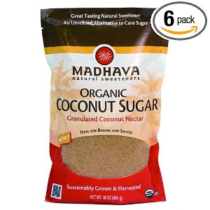 Organic Coconut Sugar Deal Organic Coconut Sugar $2.19 lb!!  Six Pack $13.17 (Reg $27) Shipped FREE!