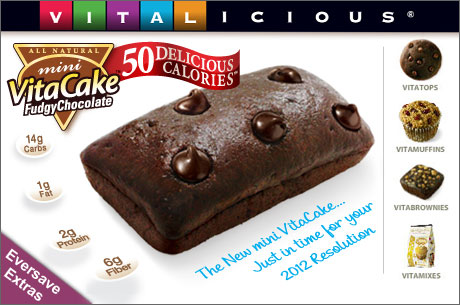 Save 460x305 52893 $15 for $30 worth of low calorie Guilt Free treats from Vitalicious
