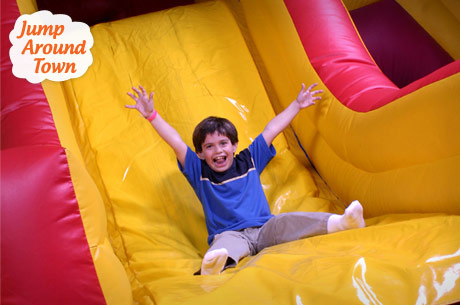 Save 460x305 53911 $5 or $3 for two admissions to open jump at Jump Around Town (Save 64%)