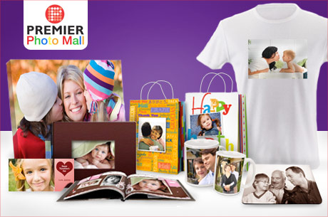 Save 460x305 53965 $15 for $50 worth of calendars, T shirts, albums and more photo gifts at Premier Photo Mall