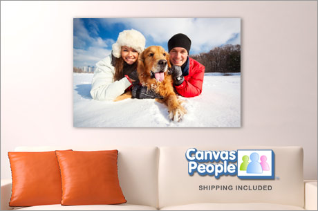 Save 460x305 54347 $32 for a $10 Staples Gift Card and a custom canvas print — free shipping!