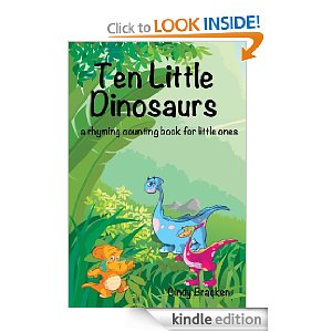 Ten Little Dinosaurs Book Free Free:  Kindle E Book!  Ten Little Dinosarus.