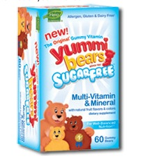 Yummy Bears Deal Free Sample:  Yummy Bears Multi Vitamin