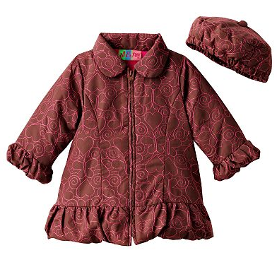 baby coat and hat set deal Baby Coat & Hat Set (size 12 24 months)   only $9.60!