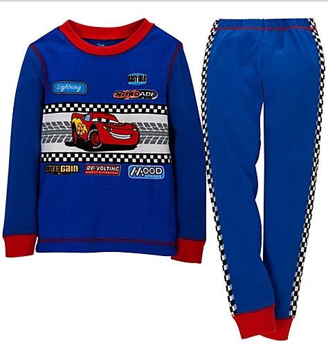 lightning mcqueen jammies deal Free shipping at Disney Store (items as low as $3.50)