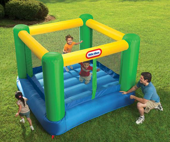 little tykes bouncer deal Little Tykes 8x8 bouncer $189.99 shipped (reg $230)
