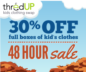 thred up deal 30% off code to ThredUp