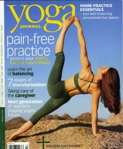 yogini sara cover 1  248x300 Yoga Journal 1 Year $3.99