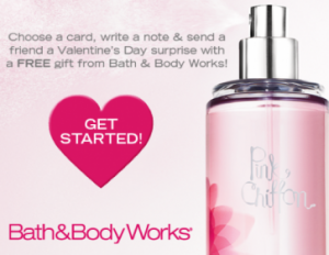 Bath and Body Works Deal 300x232 Free Bath & Body Works Valentine and Product (Facebook Deal)