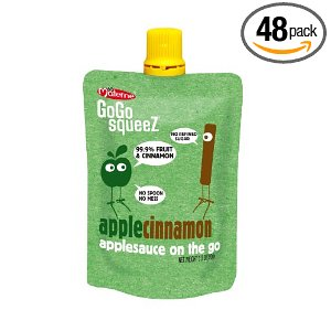 GoGo Applesauce Deal GoGo SqueeZ   $.44/pouch shipped