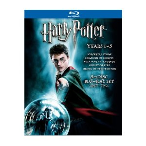 Harry Potter Deal AAA Deal:  Harry Potter Years 1 5 Blu ray $24.02!