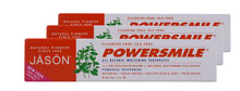 free jason powersmile toothpaste deal All Natural Whitening Toothpaste Bundle 3 pack   FREE! for new members