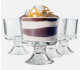 mini trifle bowls deal Set of 4 Mini Trifle Bowls $7.50