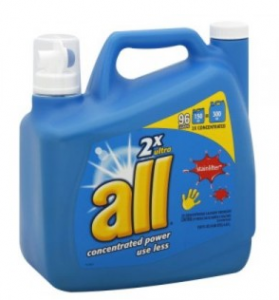 All Laundry Detergent printable coupon deals 279x300 $Printable Coupon for All Laundry Detergent
