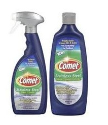Comet stainless steel cleaner coupon