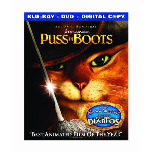 Puss in Boots Blu ray Deal *Super Hot* AAA: Puss in Boots $11.68! *Blu ray, DVD, and Digital Copy!
