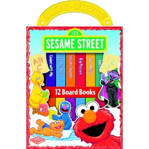 Sesame Street Library Deal AAA Deal:  12 Childrens Books $5.18 Choose Sesame Street or Disney Princess