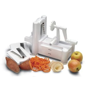 Tri Blade Spiral Vegetable Slicer Deal AAA Deal: Tri Blade Spiral Vegetable Slicer $29.95 (Reg $49.99)