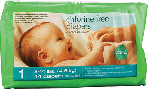 Vitacost Diaper Deal Insane Deal on Seventh Generation Diapers! $.07 Each at Vitacost!