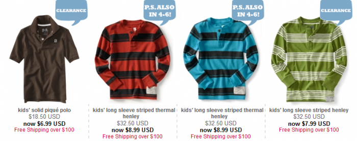 Aeropostale Kids Clothing sale $5 – Utah Sweet Savings