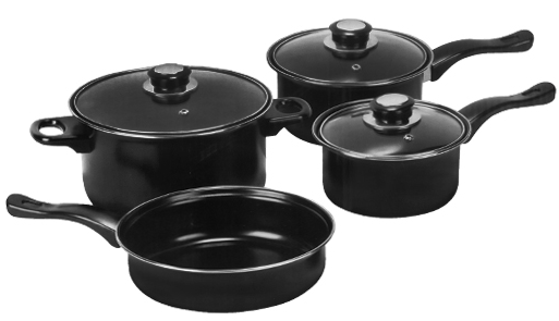 cookware set deal *HOT* 7 Piece Non Stick Cookware Set $14.99 shipped