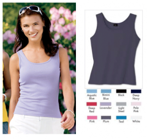 hanes tank top deal free shipping 300x283 5 Womens Hanes tank tops $14.99 ($3 each)