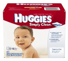 huggies simply clean wipes deal Huggies Simply Clean fragrance free 400 Ct. Wipes   $8.79 or less