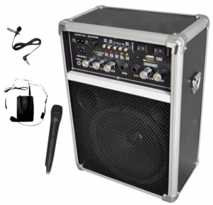 pa speaker and mic set deal 300x289 PA Speaker & Mic Set $99.99 shipped (reg $340)