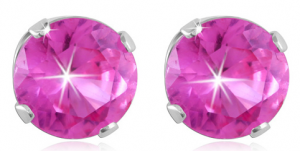 pink sapphire studs deal 300x151 Pink Sapphire Studs in Sterling Silver $7.98 shipped