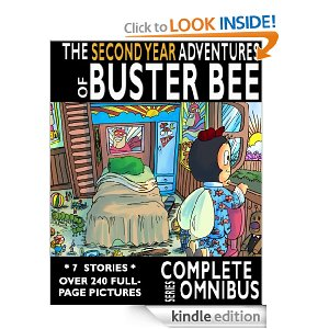Buster Bee Deal Free Childrens Ebook:  Complete Second Year Adventures of Buster Bee (Reg $19.99)