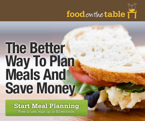 Food on the Table Deal *Hot* Food On The Table   Match Recipes to Sales to Save Money *Free For Life Code*