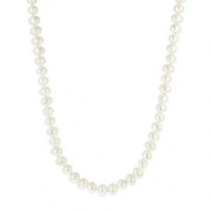 Freshwater Pearl Necklace Deal 300x300 AAA Deal:  White Freshwater Cultured Pearl Necklace $38.00!