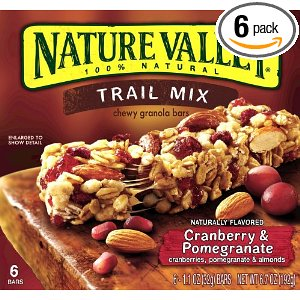 Valley Chewy Trail Mix Bars Dela AAA Deal: Nature Valley Trail Mix ...
