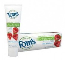 Toms Free Toothpaste Deal Free Sample:  Toms of Main Strawberry Toothpaste