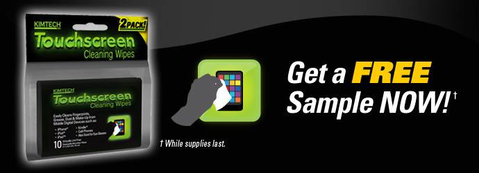 Touchscreen Free Sample Deal Free Sample:  Touchscreen Cleaning Wipes