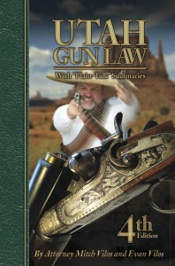 Utah Gun Law 4 198x300 Giveaway:  Self Defense Laws of All 50 States and Utah Gun Law Books!