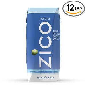 Zico Coconut Water Deal AAA Deal:  ZICO Premium Coconut Water 12 Pack $14.62.