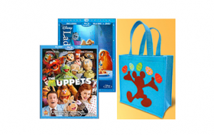 disney movies deal 300x190 TWO Disney Blu Ray (combo packs) + Easter Bag = $35 shipped!